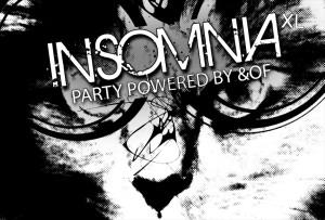 INSOMNIA XL: Black & White edition @ Lido