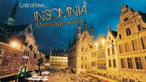 INSOMNIA XL: Message party. Greetings from Leuven! @ Lido  | Leuven | Vlaanderen | België